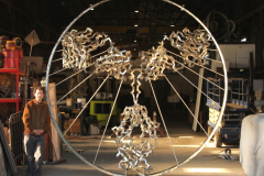 Protein Sculptures: 'Angel of the West'
