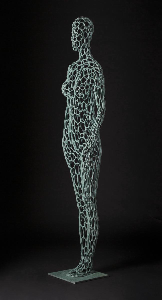 Untitled (Slender Bronze), 2013-quarter